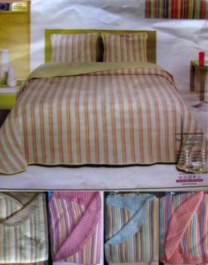 SANTIAGO csíkos ágytakaró (160*260)