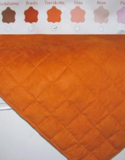 Bőrhatású ágytakaró többféle színben (235*250, 2 oldalas)