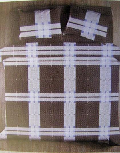 JOE BROWN 3 részes pamut-szatén cipzáros ágyneműgarnitúra (140×200)
