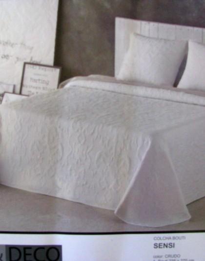 SENSI kétszemélyes ágytakaró, 2 db díszpárnahuzattal (235*270)
