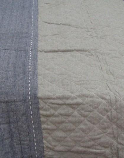 DENNY nagyméretű kétszemélyes steppelt pamut ágytakaró (230*250 cm)