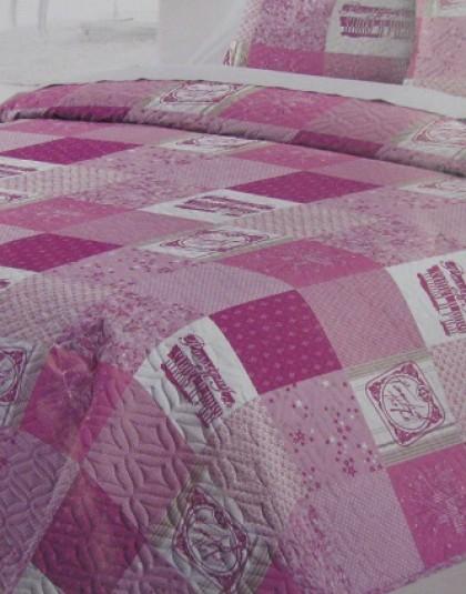 DIDI kétoldalas ágytakaró 1 db díszpárnahuzattal (180*260 cm)
