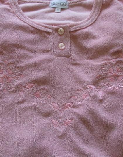 Egyszínű, vastag női pizsama (KOGO)