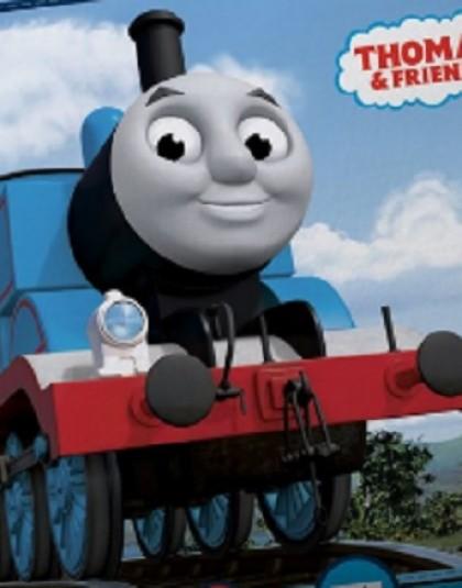 Thomas, a gőzmozdony díszpárna (40*40 cm)