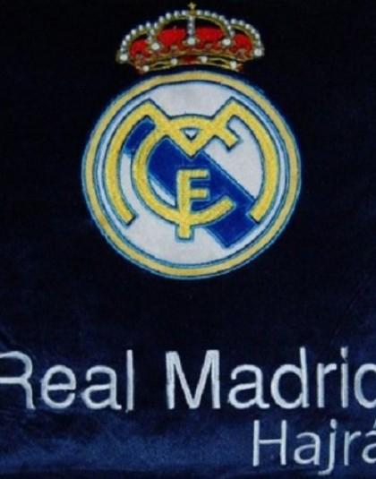Real Madrid díszpárna (Címeres, 35*35 cm)