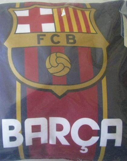 FC Barcelona díszpárna (Címeres, 35*35 cm)