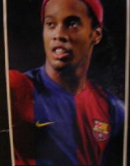 FC Barcelona törölköző Ronaldinho (75x150 cm)