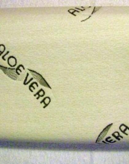 Memória fejpárna aloe vera huzattal (48×32)