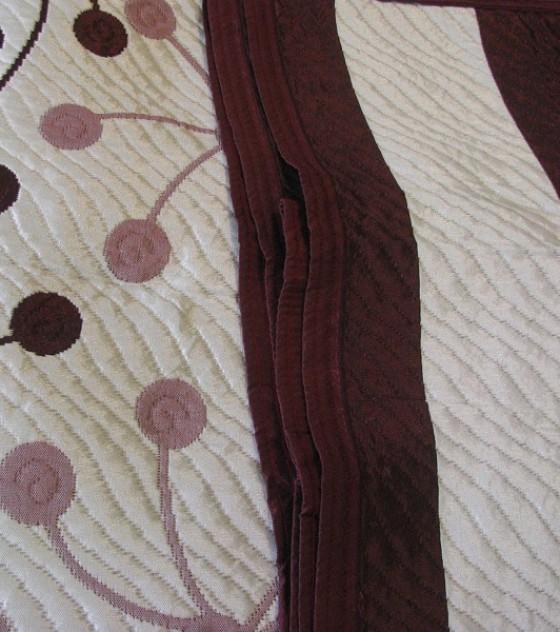 TINA nagyméretű, kétoldalas ágytakaró (240*260 cm)