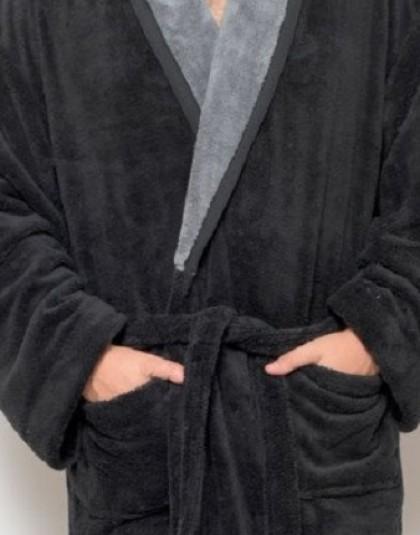 Belmanetti wellsoft férfi köntös sálgallérral (W-210)