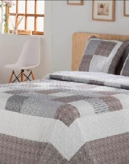 LAUREN kétszemélyes ágytakaró, 2 db díszpárnahuzattal (235*270 cm)