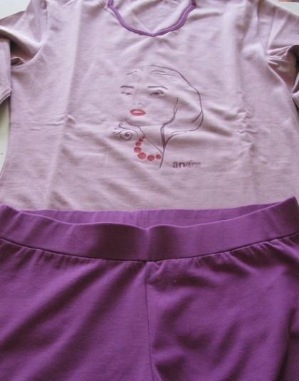Lila női pizsama (Andu)