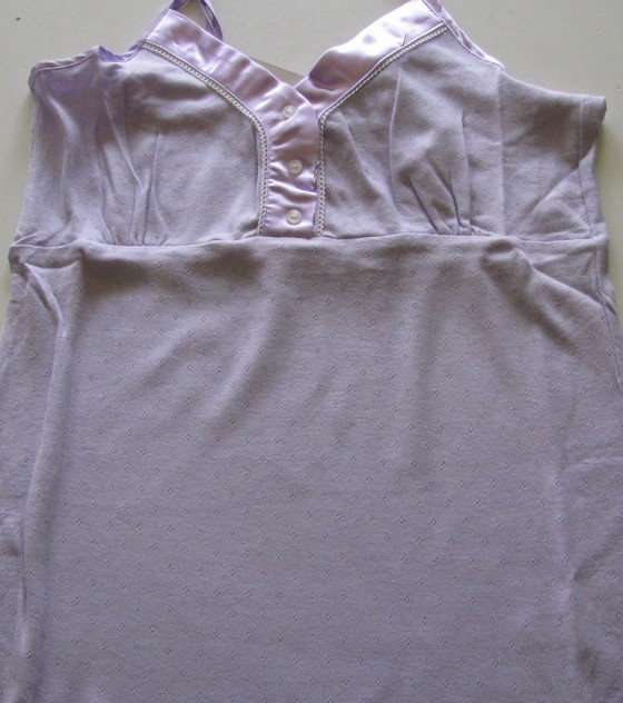 Exkluzív lila női hálóing (Pastunette)