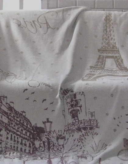 Paris pléd (150*200)