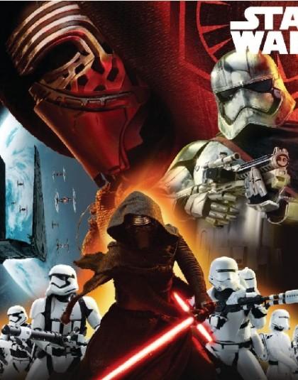 Star Wars díszpárna (vákumcsomagolt, 38*38 cm)