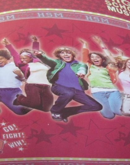 2 részes pamut ágyneműgarnitúra (High School Musical) (140×200 cm)