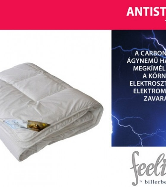 Billerbeck Feelings antistressz pihentető, szénszálas téli paplan (135*200 cm)