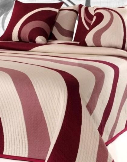Marilyn kétszemélyes ágytakaró, 2 db díszpárnahuzattal (240*270)