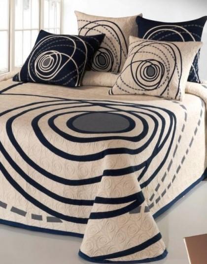 Chelsea kétszemélyes ágytakaró, 2 db díszpárnahuzattal (240*270)