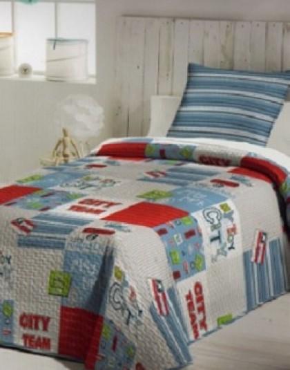 MARATON ágytakaró, 1 db díszpárnahuzattal (180*260)