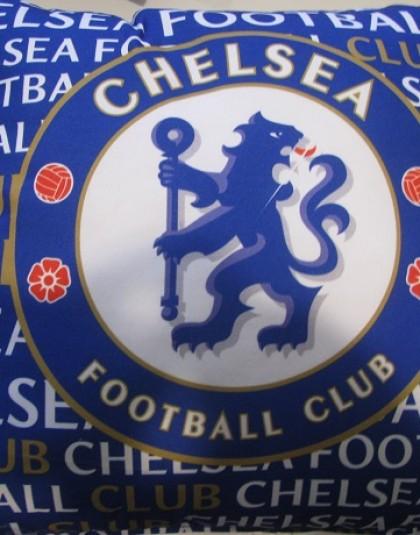 Chelsea FC díszpárna (Címeres, 40*40 cm)