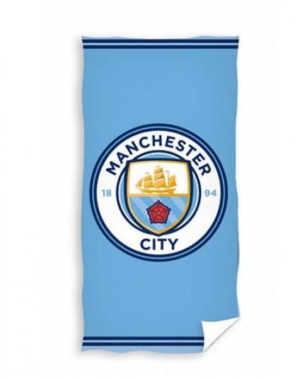 Manchester City frottír törölköző (Címeres) (70*140 cm)