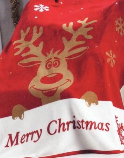 Karácsonyi pléd (Rudolf) (150*200 cm)
