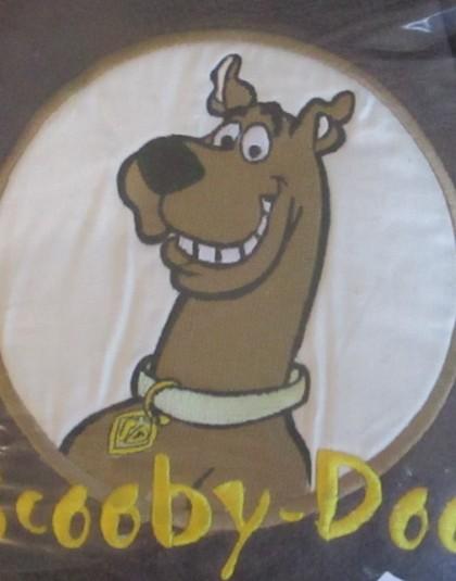 Scooby-Doo polár díszpárna (40*40 cm)