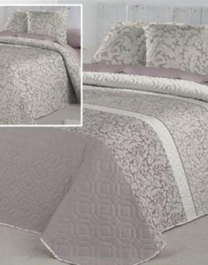 CELINA MALVA kétszemélyes ágytakaró, 2 db díszpárnahuzattal (235*270)