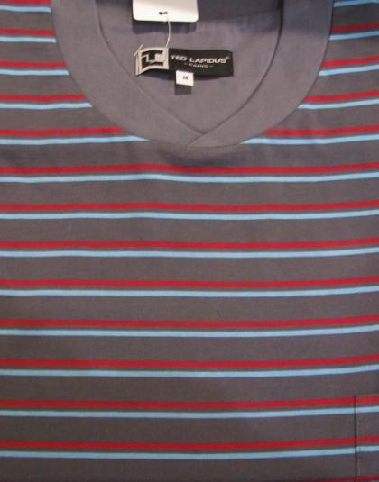 Csíkos mintázatú hosszú férfi pizsama (TL)