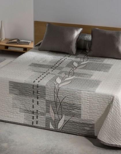 ZEN drapp kétszemélyes, kétoldalas ágytakaró (235*270)