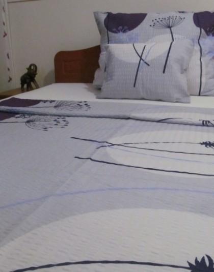 3 részes krepp ágyneműgarnitúra (140×205 cm)