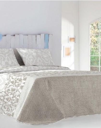 SHARON BEIG kétoldalas ágytakaró, 2 db díszpárnahuzattal (235*270)