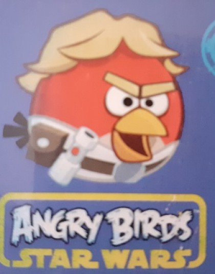 2 részes pamut gyermek ágyneműgarnitúra (Angry Birds - Star Wars) (140×200 cm)