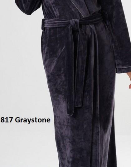 Egyszínű modál női köntös sálgallérral  (Genéve 8618, méret: 40, 42, 44)