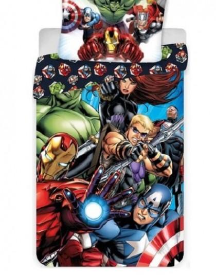 2 részes pamut gyermek ágyneműgarnitúra (Avengers - Marvel) (140×200 cm)