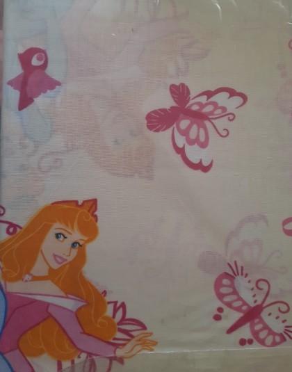 2 részes pamut ovis ágyneműgarnitúra (Disney hercegnők és pillangók) (90×140 cm)