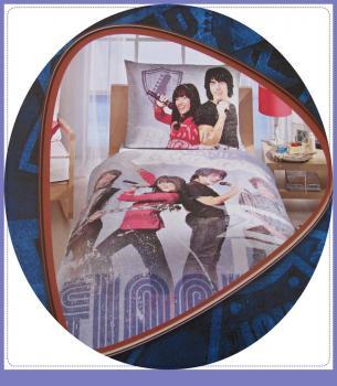 gynem garnit r k walt disney camp rock gynem 140x200 cm. Black Bedroom Furniture Sets. Home Design Ideas