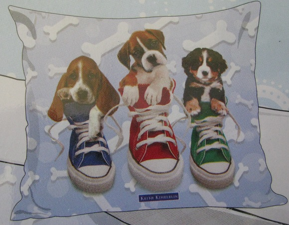 2 részes pamut ágyneműgarnitúra (Kutyák a cipőben) (140×200 cm) 5e759a4d7e