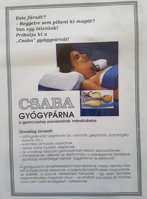 agyvagy.hu - Csaba gyógypárna - Saját termék! f50c9cb79c